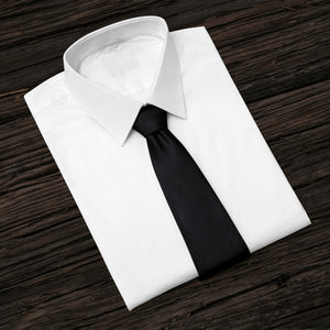 Black Business and Solid Tie