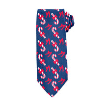 Load image into Gallery viewer, Candy Canes Tie