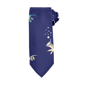 Cat and Fish Tie