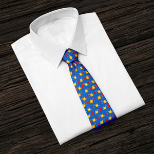 Chick Magnet Navy Blue Tie