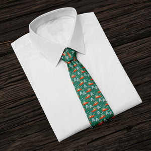 Bringing Home The Tree Tie