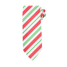Load image into Gallery viewer, Candy Cane Stripe Tie