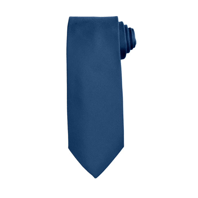 Blue Business and Solid Tie