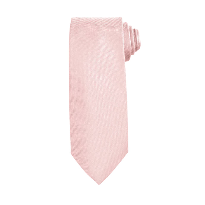 Pink Business and Solid Tie