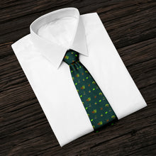 Load image into Gallery viewer, Into The Woods Green Tie