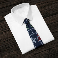 Load image into Gallery viewer, New Year Santa Tie