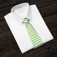 Load image into Gallery viewer, Palm Tree Siesta Aqua Tie