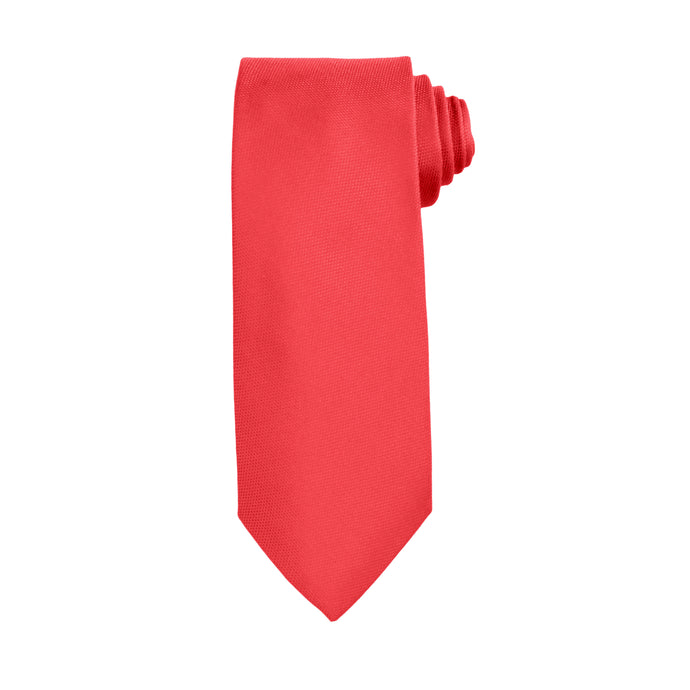 Red Business and Solid Tie