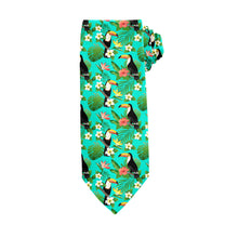 Load image into Gallery viewer, Toucans Tie