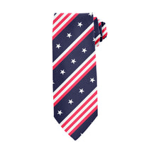 Load image into Gallery viewer, USA Stripe Tie