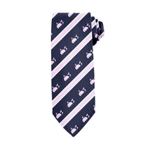 Load image into Gallery viewer, Striped Whales Tie