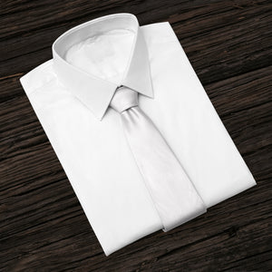 White Business and Solid Tie