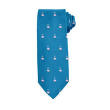 Load image into Gallery viewer, Flamingos Tie