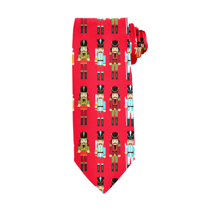 You Are What You Cracked Red Tie