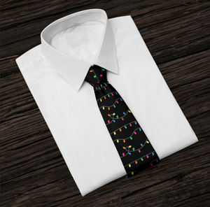 Christmas Lights Tie