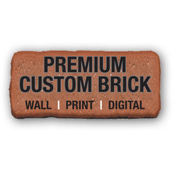 PREMIUM RECOGNITION BRICK - Print and Digital Package