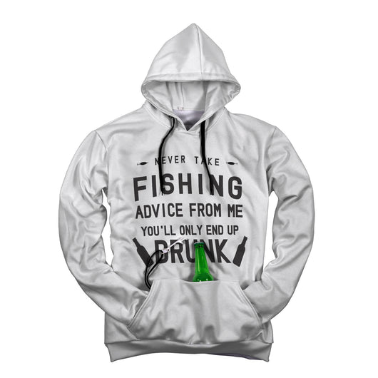 Fishing Advice Beer Hoodie