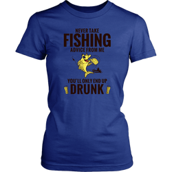 Fishing Advice Women's Tee