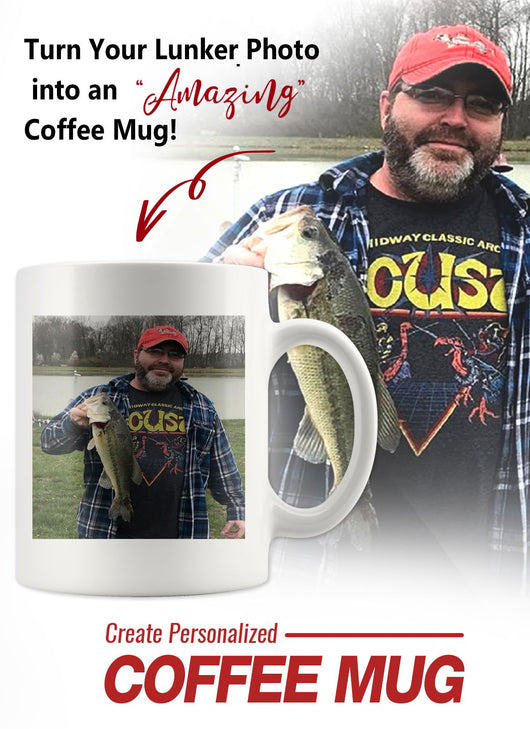 PERSONALIZED Lunker Photo Coffee Mug