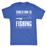 Fishing is Importner - Triblend Tee