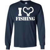 I Love Fishing Long Sleeve T-Shirt