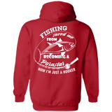 Fishing Saved Me Hoodie