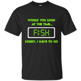 Time to Fish Cotton T-Shirt