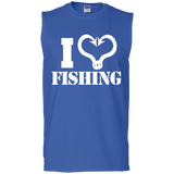 I Love Fishing Sleeveless T-Shirt