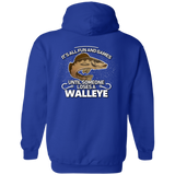 Fun and Games Walleye Hoodie