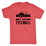 Wishing I was Fishing T-Shirt