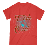 Exclusive Fish On T-Shirt