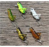 "5pc/lot  ""Hopper Popper"" Fishing Lures Set"