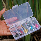 5Pcs Jigging Fishing Lures With Box