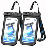 2pc Waterproof Floating Cell Phone Pouch