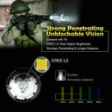 Shadowhawk Tactical Flashlight