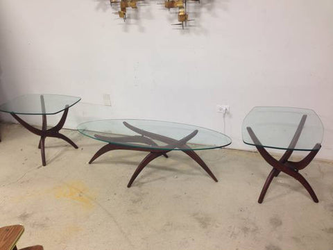 Forest Wilson Mid Century Modern Coffee & End Tables - MCM