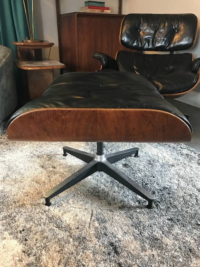 Brazilian Rosewood Eames Lounge Chair - Vintage Eames Chair! & Brazilian Rosewood Eames Lounge Chair - Vintage Eames Chair ...