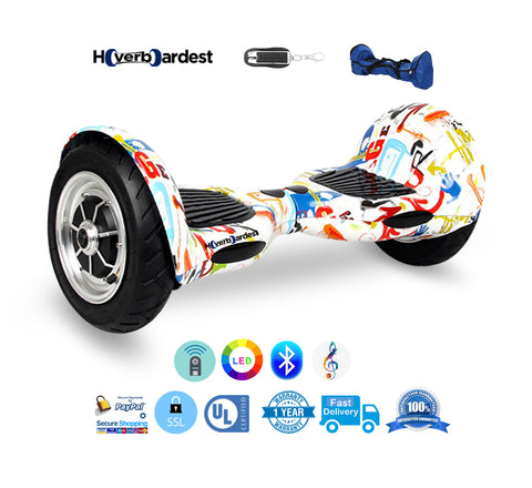 graffiti Hoverboard with Bluetooth
