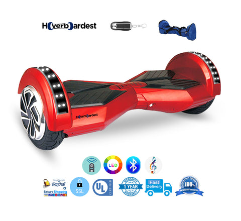 Lamborghini Red Hoverboard with Bluetooth