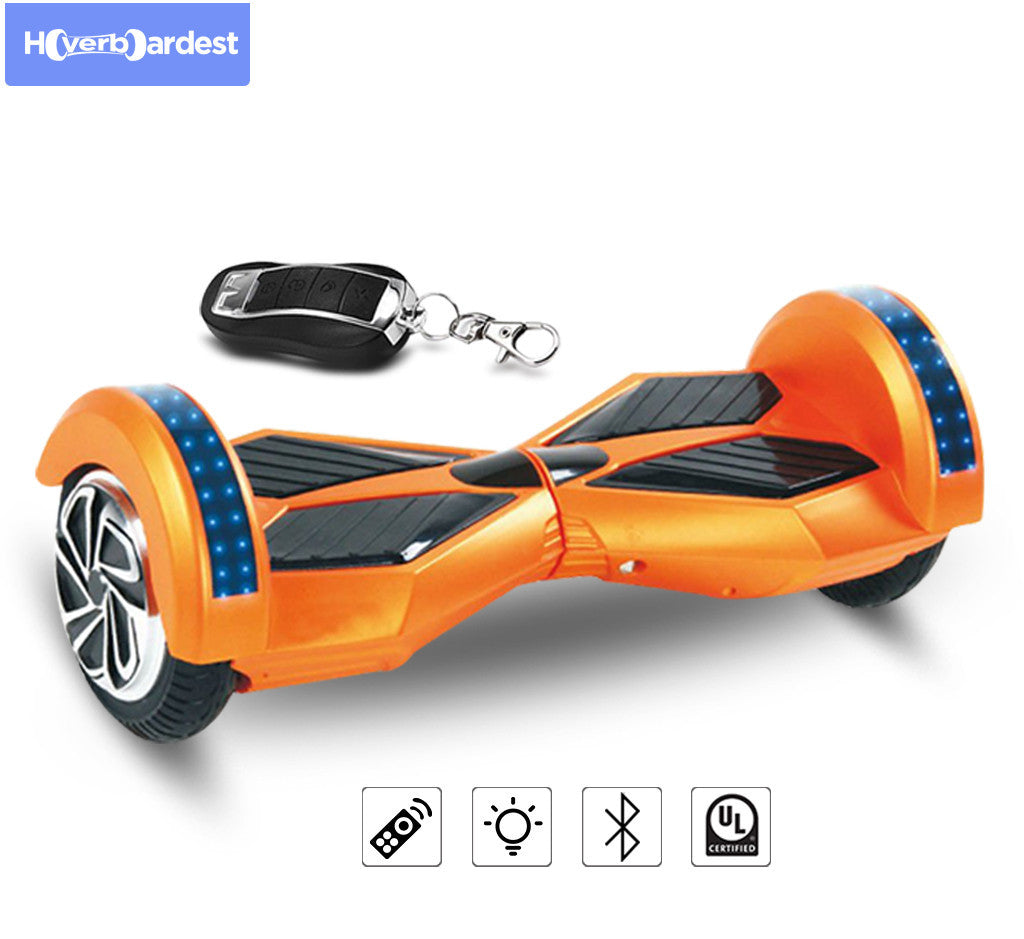8 Inch Lambor Red Hoverboard With Bluetooth For Sale