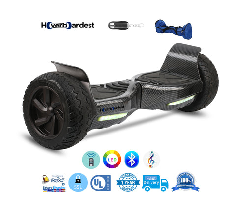 Hoverboardest T1 All Terrain Off Road Rover Hoverboard for Outdoor Ridding(Carbon Fiber)