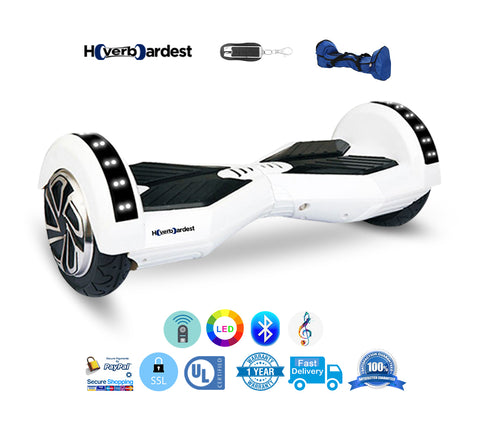 Bluetooth Lamborghini White Hoverboard