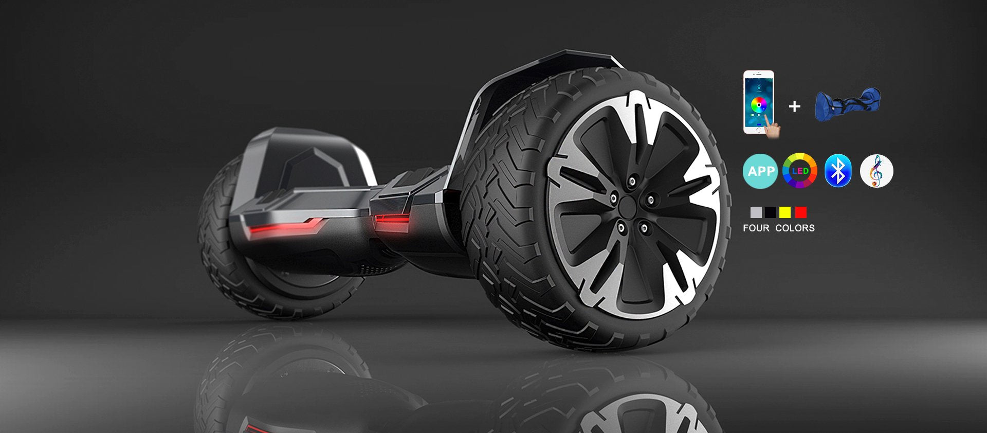 The Strongest Off Road Hoverboard