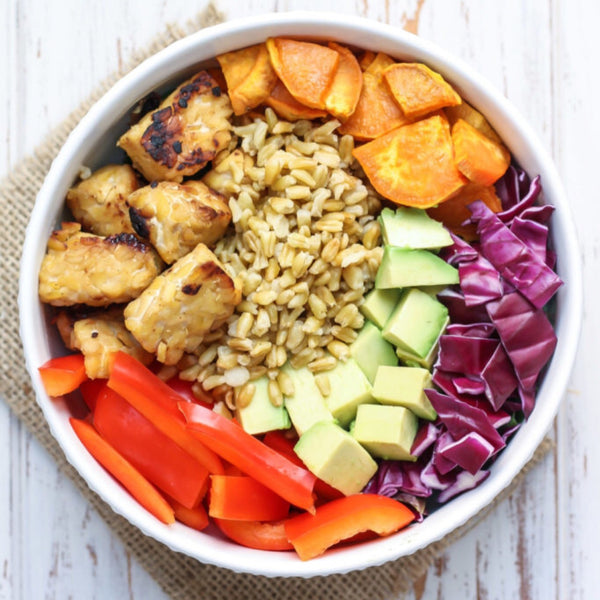 Buddha Bowl / Quinoa Bowl/ Jackfruit Only In Soup Container