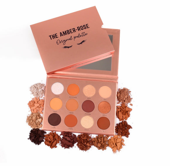 The Amber-Rose Original Eyeshadow Palette