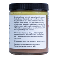 Unscented Salt Scrub