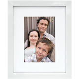 MCS Gallery Picture Frame Matted to Display Glass Front