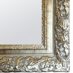 Raphael Rozen Hanging Framed Wall Mounted Mirror