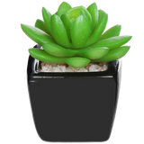 Set of 3 Modern Home Decor Mini Succulent Artificial Plants