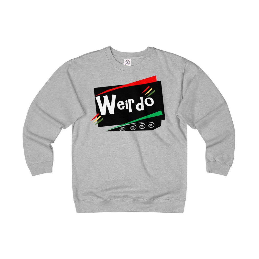 WEIRDO Agender/Unisex Heavyweight Fleece Crew